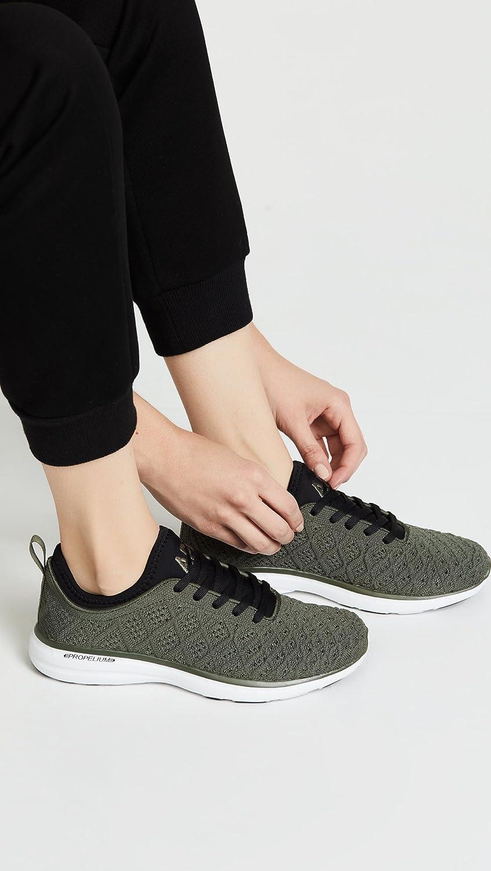APL: Athletic Propulsion Labs Women's Techloom Phantom Sneakers B07FF289W5 8 B(M) US|Fatigue/Black/White