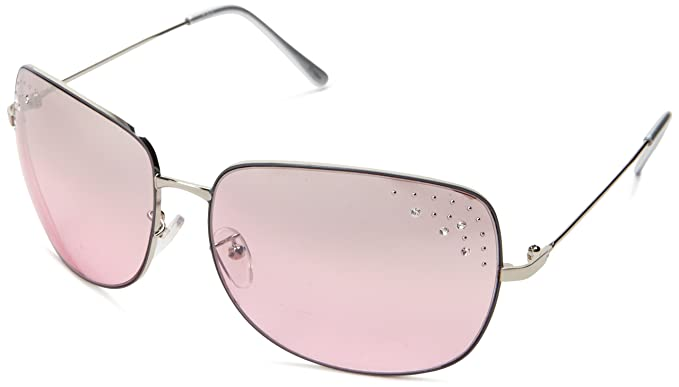 b6c6aebe2f Amazon.com  Southpole Women s 348SP Oval Sunglasses