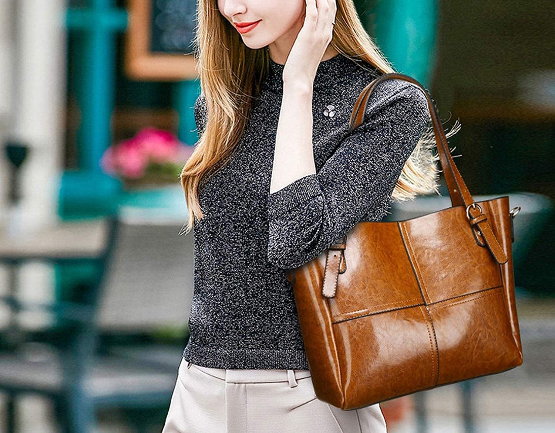 Luxury Oil Wax Women Shoulder Bag Female Simple Solid Patent Pu Leather Large Casual Tote Lady Handbag Bolsas Femininas