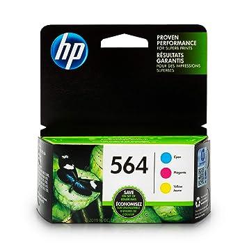 HP 564 cartucho de tinta Cian, Magenta, Amarillo 3 ml - Cartucho ...