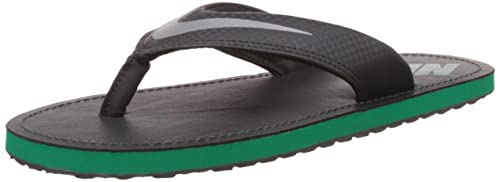 dd2fc7cd605c2 Nike Men s Chroma Thong Iv Anthracite and Chrome Flip-Flops and House  Slippers -6