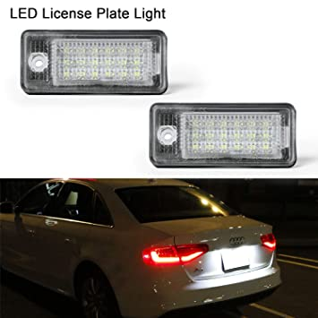 2x Audi A6 C6 Genuine Osram Ultra Life Number Plate Lamp Light Bulbs