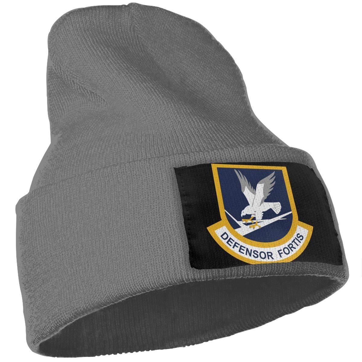 QZqDQ Defensor Fortis Unisex Fashion Knitted Hat Luxury Hip-Hop Cap