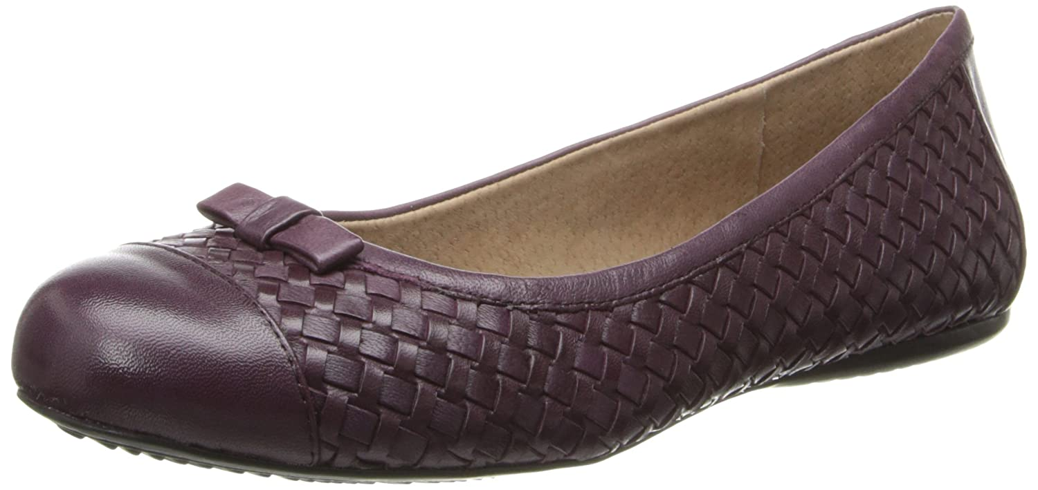 SoftWalk Women's Naperville Ballet Flat B00HQQTS1S 7.5 C/D US|Oxblood