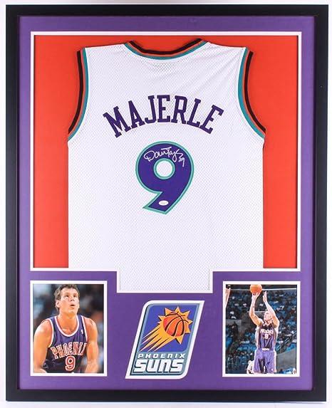 Dan Majerle Signed Suns 34x42 Custom Framed Jersey (JSA COA) 3x NBA ... b18cf6343
