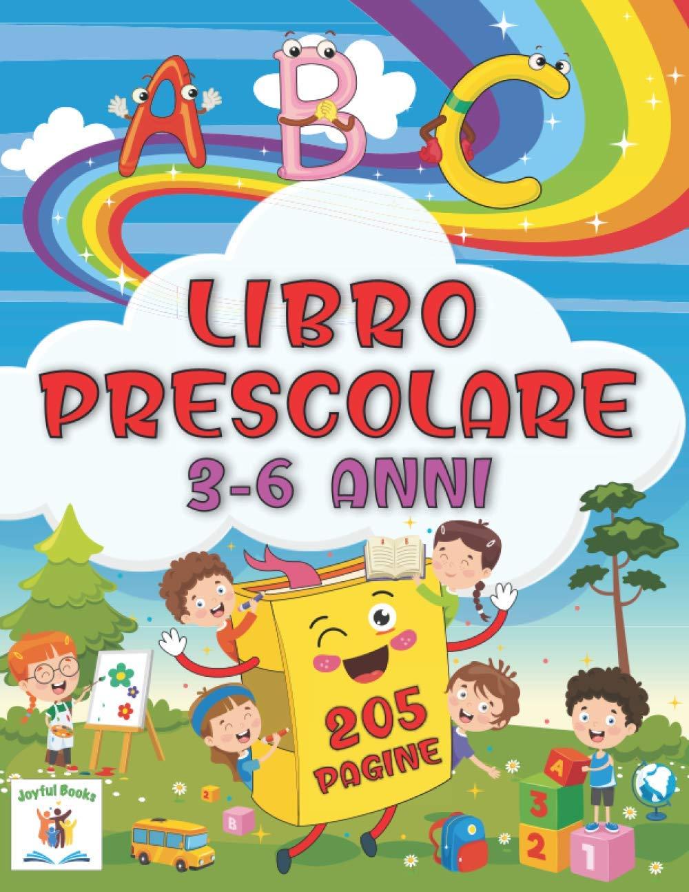 ABC Libro Prescolare 3-6 anni 205 pagine