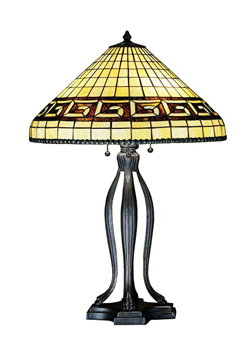 Meyda Tiffany 29504 Three Light Table Lamp 30 H Amazon Com