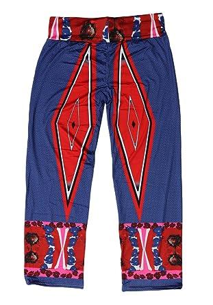 Toyobuy Pantalon Femme Plage Jambes Larges Amples Taille Haute Yoga Sport  Fluide Eté Tour Taille 84 014817229049