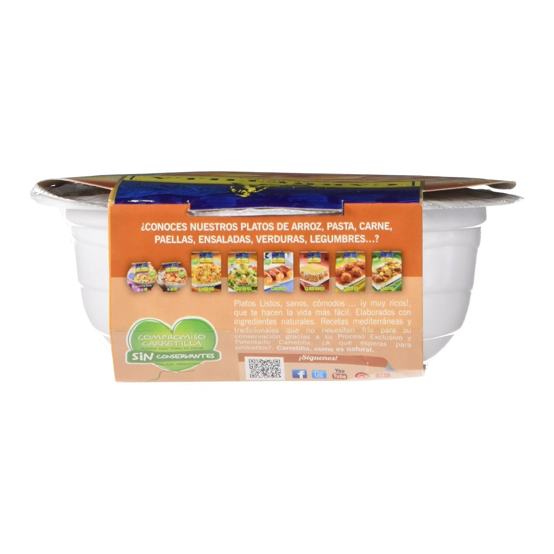Carretilla - Ensalada Cangrejo y Piña - 220 g: Amazon.es: Alimentación y bebidas