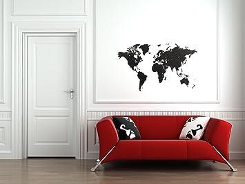 Mimi Luxury Weltkarte Puzzle Wand Hochwertig Holz Weltkarte