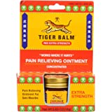 Tiger Balm Pain Relieving Red Extra Strength, 18g – Relief for Sore Muscles – Extra Strength Sports Rub – Tiger Balm Extra St