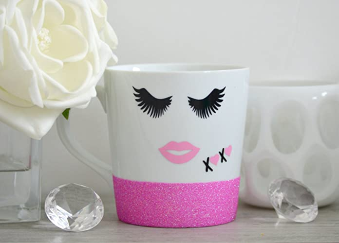 fd141a84553 Image Unavailable. Image not available for. Color  Eyelash Mug