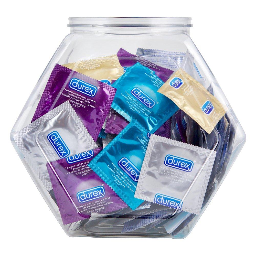 Durex Condom  Variety Fish Bowl, 144 Count