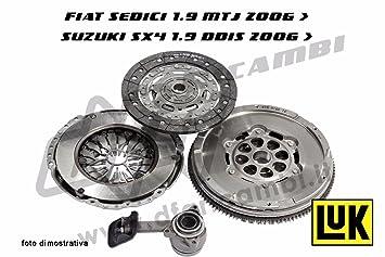 Kit Embrague + Volante + Rodamiento Hidráulico Luk kv0059 - 415024110 - 624322009 - 510017010: Amazon.es: Coche y moto