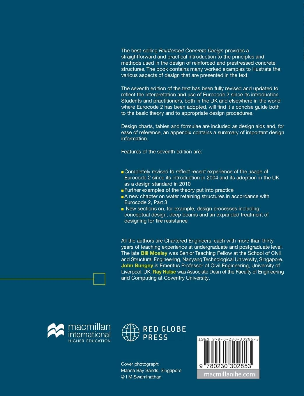 Reinforced Concrete Design: to Eurocode 2: Amazon co uk