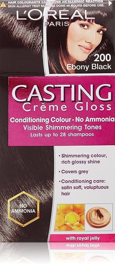 Buy L'Oreal Paris Combo of Casting Creme Gloss, Ebony Black 200