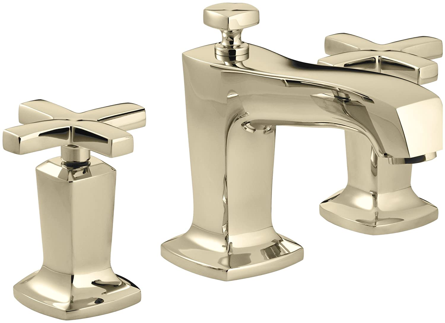 KOHLER K-16232-3-CP Margaux Widespread Lavatory Faucet, Polished ...