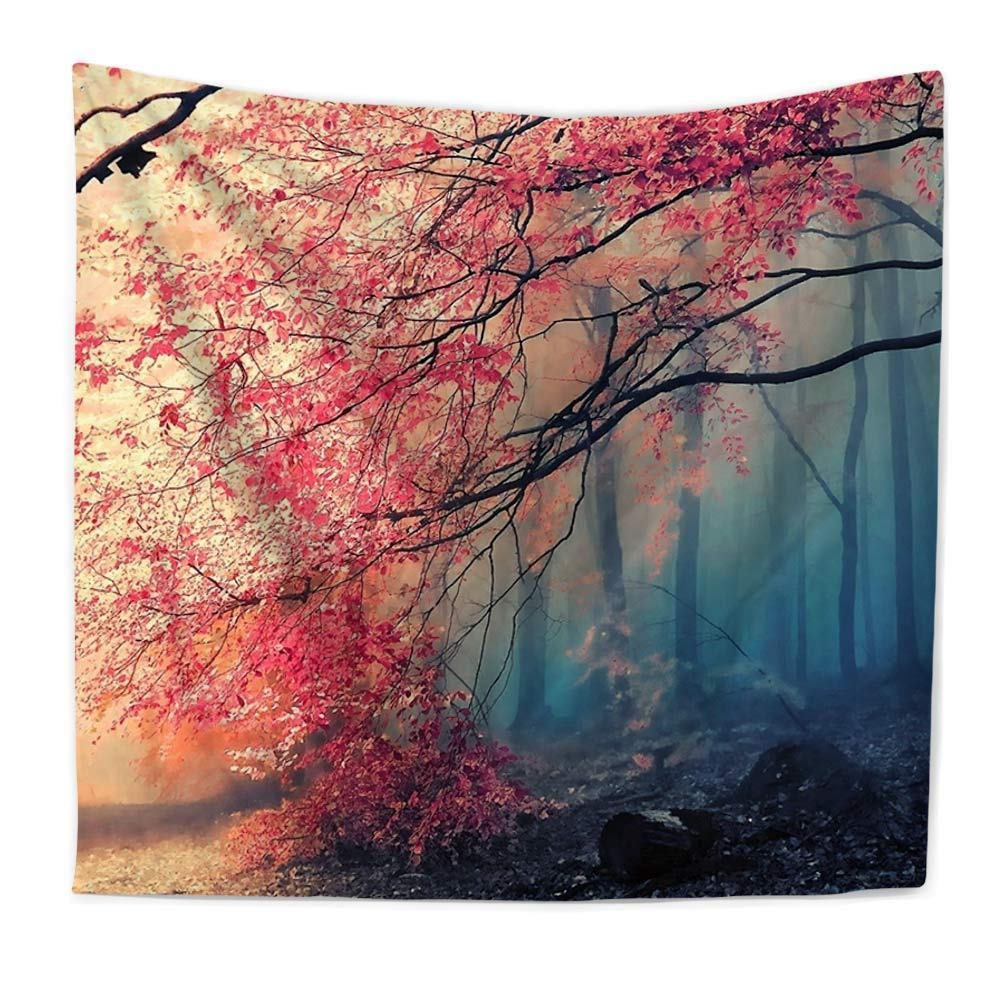 kaige tapestry Natural scenery Polyester India tapestry wall-hung beach towel sitting blanket