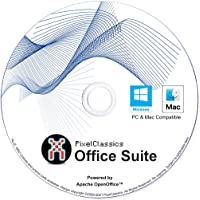 Office Suite 2021 Compatible with Microsoft Word 2019 365 2020 2019 2016 2013 2010 2007 CD Powered by Apache OpenOffice…
