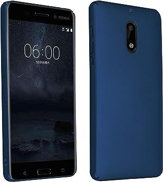 Cadorabo Funda para Nokia 6 2017 en Metal Azul: Amazon.es: Electrónica