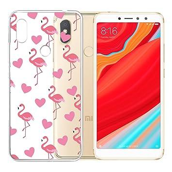IJIA Case Funda para Xiaomi Redmi S2, Transparente Amar ...