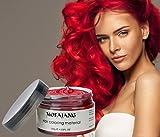 Temporary Red Hair Wax Natural Ash Matte Hair