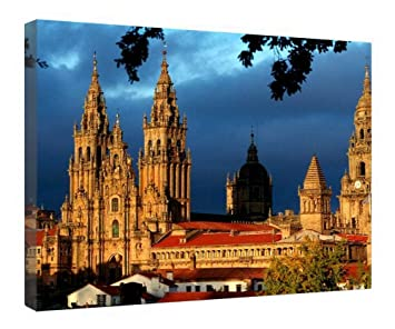 Amazon.com: LeeQueen Canvas Prints Wall Art - Santiago De ...