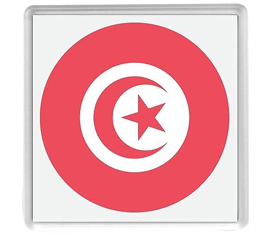 IamEngland Marca para Túnez Emoji 58mm x 58mm Nevera imán/Flag for ...