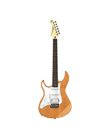 Amazon.com: Yamaha Pacifica PAC112JL YNS Left-Handed Electric Guitar, Yellow Natural Satin: Musical Instruments