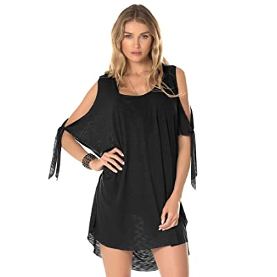 Becca by Rebecca Virtue Women's Breezy Basics Tunic Swim Cover Up