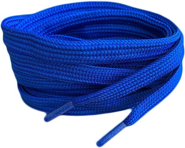 Royal Blue Coloured Smart Laces® Flat