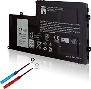 43Wh TRHFF P39F Battery for Dell Inspiron 15 5548 5547 5542 5543 5545 5000 14 5447 5448 5445 5442 5443 5000 Latitude 3550 3450 0PD19 1WWHW P49G P51G VVMKC 0VVMKC 01V2F6 1V2F6 7P3X9 58DP4 P39F002