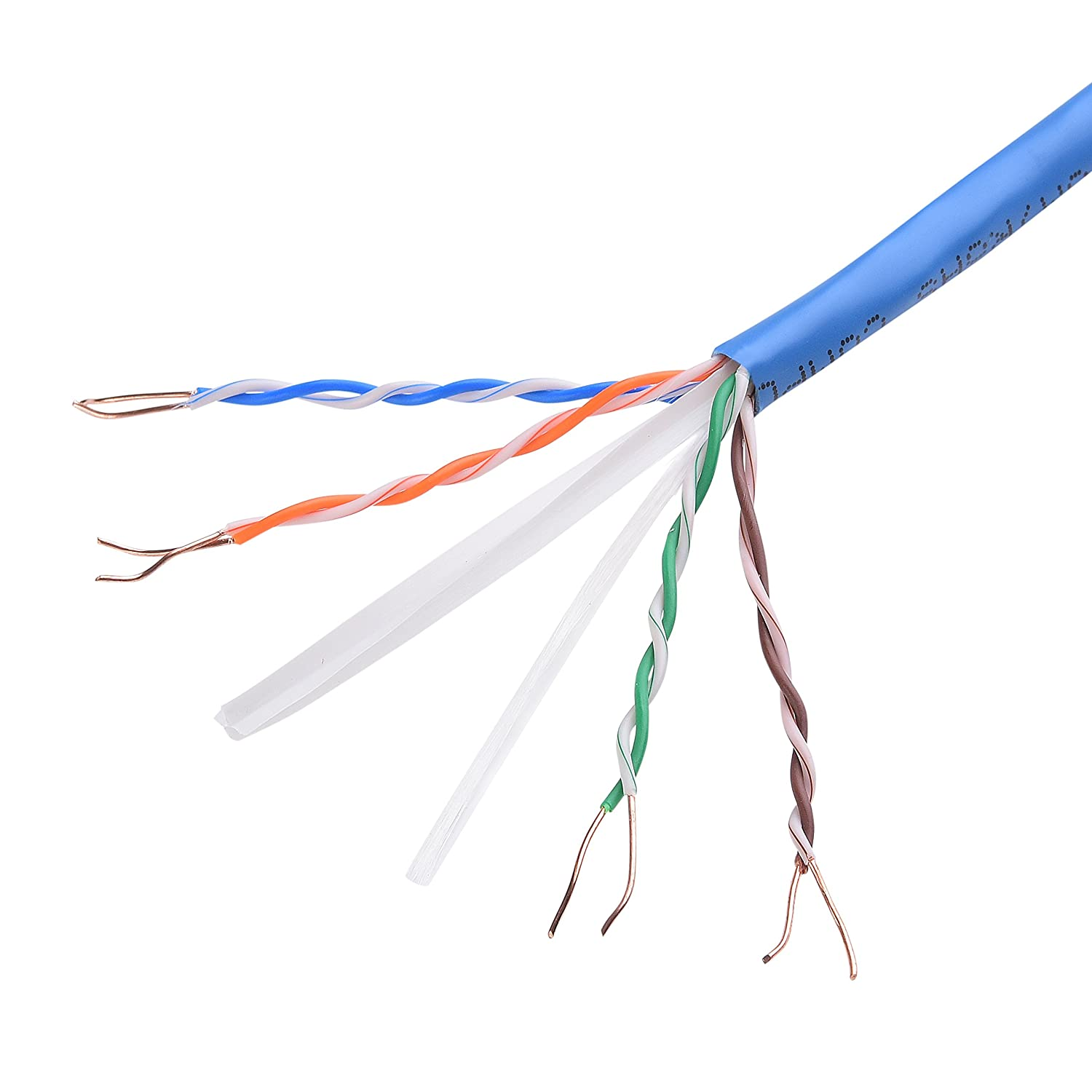 Amazon.com: [UL Listed] Cable Matters In-Wall Rated (CM) Cat 6/Cat6 ...