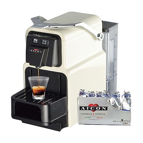 PENSOFAL aicon Tanit Original máquina máquina Caffe Café Espresso compatibiile Cápsulas Nespresso Rejilla ajustable + 100