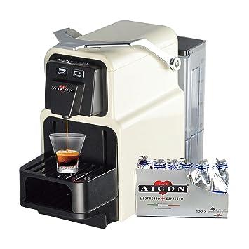 PENSOFAL aicon Tanit Original máquina máquina Caffe Café Espresso compatibiile Cápsulas Nespresso Rejilla ajustable + 100 Cápsulas compatibles Gusto mezcla: ...