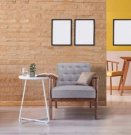 Amazon.com: Decors Retro Mid Century Modern Accent Chairs ...