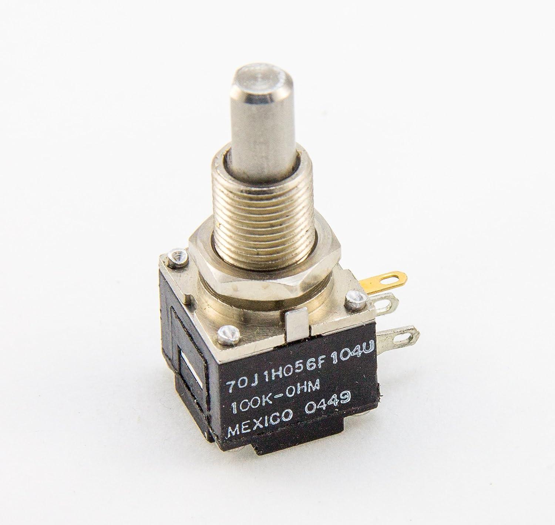 Clarostat 100k Ohm Modpot Linear Taper Potentiometer 1w 1 Watt 10 Wiring Industrial Scientific