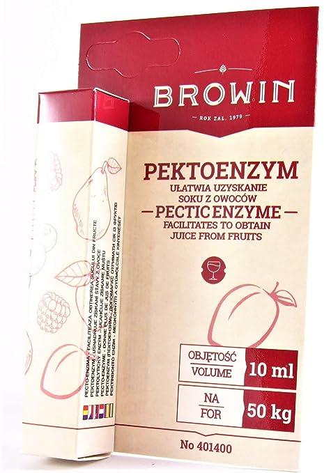 AlcoFermBrew Pectolasa - Enzima péctica líquida, 10ml / 50 kg de ...