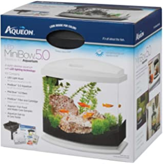Aqueon MiniBow LED Kit, White, 5 Gallon
