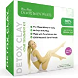 Brazilian Detox Clay Body Wraps (10-Applications) Slimming Home Spa Treatment for Cellulite, Weight Loss, Stretch Marks…