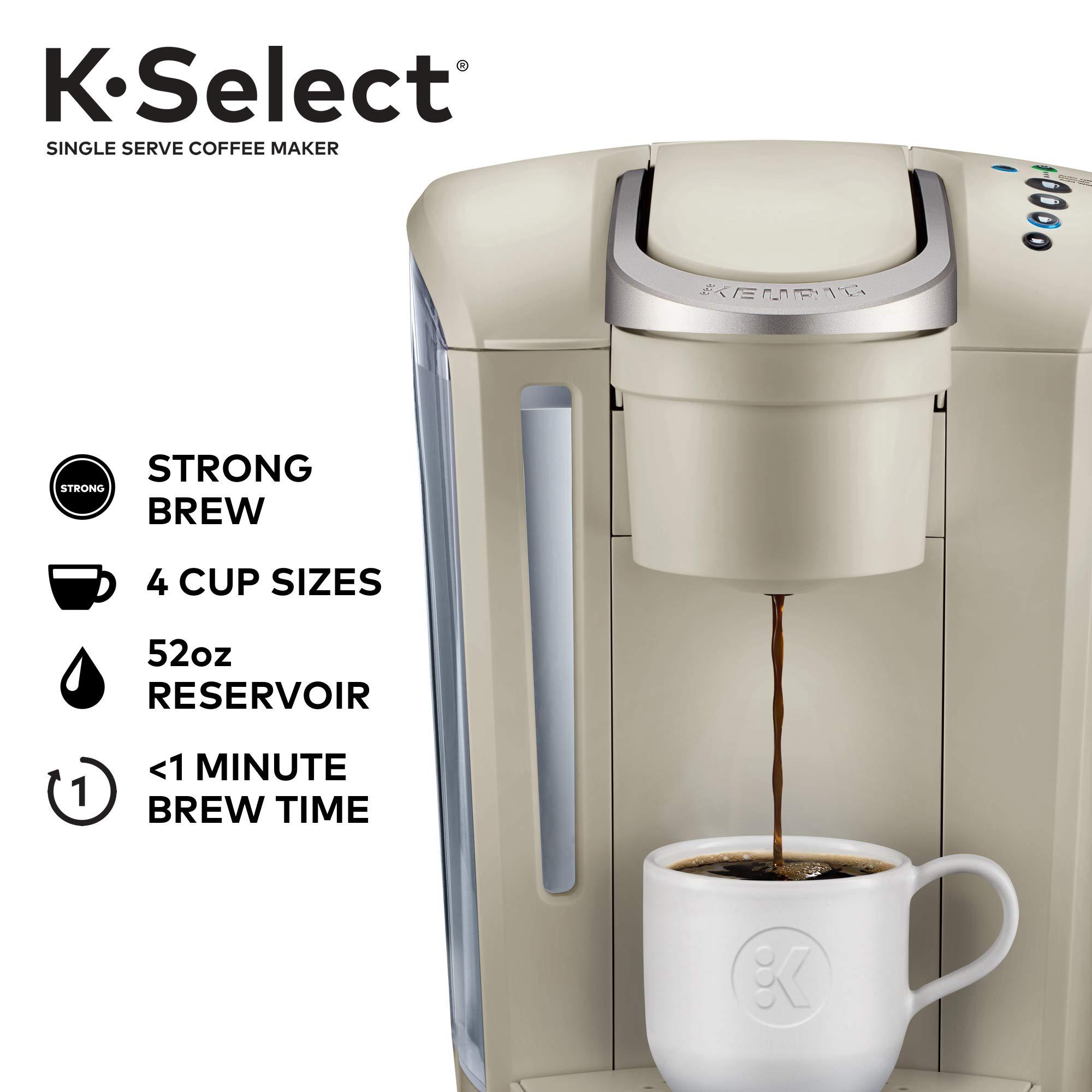 Keurig K-Select Single-Serve K-Cup Pod Coffee Maker, Sandstone by Keurig (Image #2)