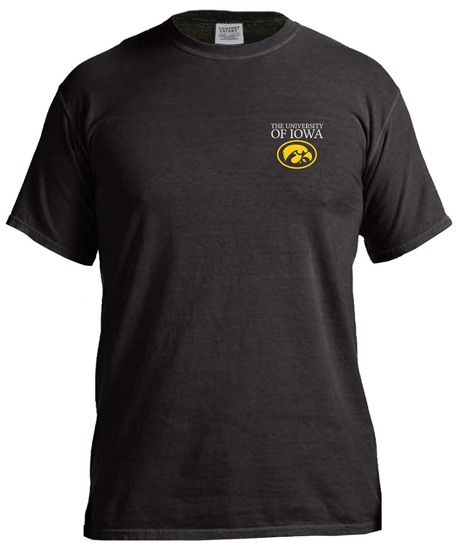 今季一番 NCAA Iowa Hawkeyes単純な円快適カラー半袖Tシャツ、ブラック NCAA B01MXYW1GQ、スモール Iowa B01MXYW1GQ, セクシーランジェリーショップMTC:a5d0eca9 --- a0267596.xsph.ru