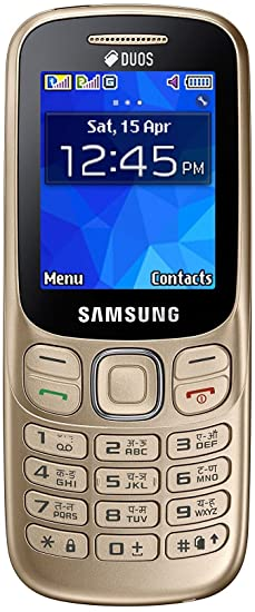 89ddaed144d3c0 Samsung Metro 313 (SM-B313E, Gold): Amazon.in: Electronics