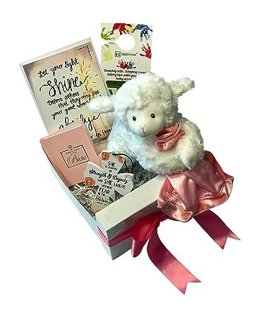 Amazon.com: Set de regalo para bautizo de bebé, incluye ...