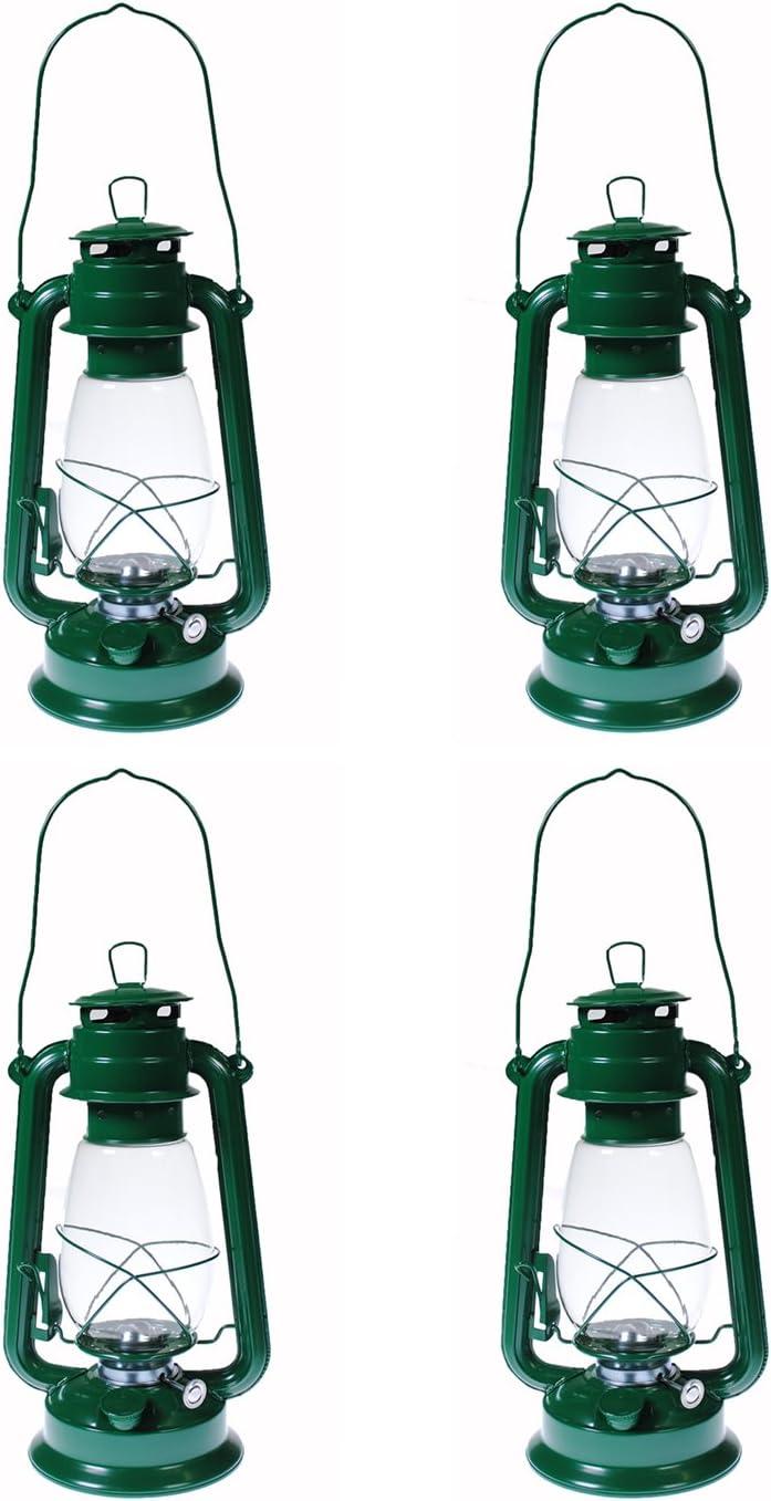 Shop4Omni S4O Hanging Hurricane Lantern Elegant Wedding Light Table Centerpiece Lamp – 12 Inches 4, Green