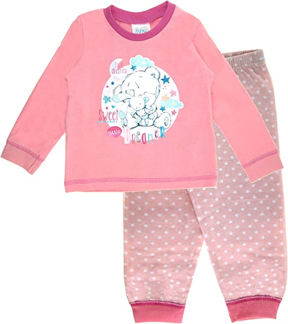 Baby Boys Girls Pyjamas Kids Toddlers Me To You Pjs Cute Tatty Teddy Set Babies