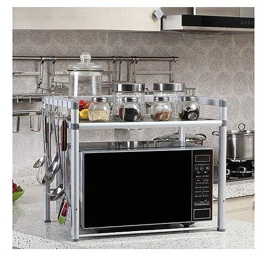 Cocina, Aluminio Espacial, Soporte Para Microondas, Rejilla ...
