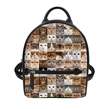 2844f2e8c71c Amazon.com | Showudesigns Mini Pu Leather Backpack College Girls ...