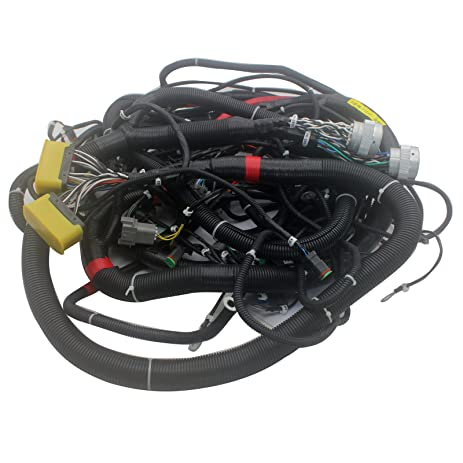 71MNkm4YDsL._SY463_ amazon com sinocmp 203 06 717 30 internal wiring harness for Largest Komatsu Excavator at couponss.co