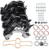 A-Premium Engine Intake Manifold with Gasket Compatible with Ford Expedition 1997-2004 F-150 1997-2006 F-250 1997-2006 E-150